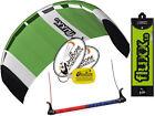 HQ Fluxx 1.8 Trainer Kite Kiteboarding Foil Power Surf Kitesurf Value Low Cost