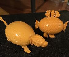 Lot of 2 Meteorbs HE-MAN MOTU Style Egg 80's Toys Collectable @ 3-head animal