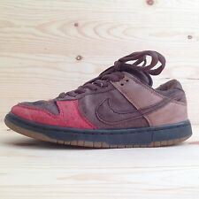 VINTAGE NIKE DUNK SB LOW BISON SHOES SEA CRYSTAL WHEAT TWEED FUTURA SUPREME CALI