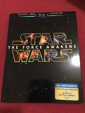 Star Wars The Force Awakens (Blu-ray/DVD, 2016 3-Disc Set) Fast Shipping!! New!