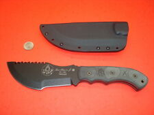 "TOPS KNIVES TOM BROWN JR. 6 1/4"" TRACKER SURVIVAL KNIFE W/ KYDEX SHEATH UNUSED"