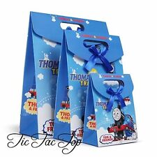 6 X THOMAS THE TRAIN PARTY CARDBOARD LOOT LOLLY GIFT BAGS