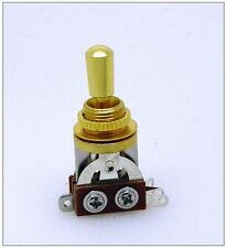 NEW 3 Way Gold Metal Tip Switch Toggle For Les Pau Guitar parts