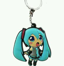 Hatsune Miku Vocaloid Japanese Anime Figures keyring / keychain Uk stock