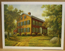 Old Kentucky Home CW Vittitow Federal Hill Bardstown Open edition unsigned
