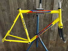 New-Old-Stock Guerciotti Hero Road Frame and Fork (53 cm) w/Yellow Finish