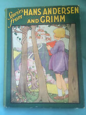 Stories / Fairy Tales from Hans Andersen and Grimm -1930's-Clarke / Betts