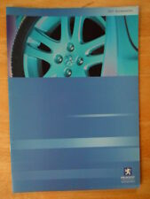 PEUGEOT 307 gamma ORIG 2001 UK Inchiostri Accessori SALES BROCHURE