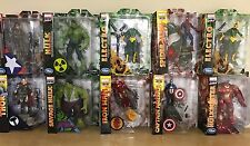 MARVEL SELECT  LOT OF 10 Avengers Hulkbuster Winter Soldier Spider Man Electro