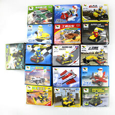 Mini Children Engineering Truck Mine Clearance Moon Car Building Blocks Lego