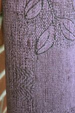 TOP QUALITY UPHOLSTERY FABRIC FR FLORAL ATHENA LILAC COLOUR ARMCHAIR  C53