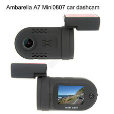 Mini 0807 Ambarella A7 1080P HD In Car Dashcam Camera Capacitor GPS Park Monitor