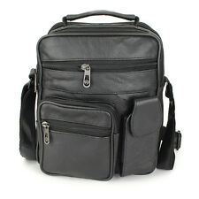 Men Leather Outdoor Leisure Crossbody Bag Business Hand Bag