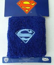2 Superman DC USA American Superhero  Sweat Band Sweatband Wristband Wrist Band