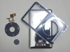 iPod video 30GB back cover + front case+clickwheel  replacement kit black