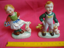 figurines made in japan occupied 1950 biscuit enfants