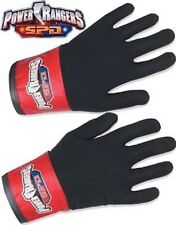 Power Rangers SPD Black Shadow Ranger Gloves New for Costume made 2005
