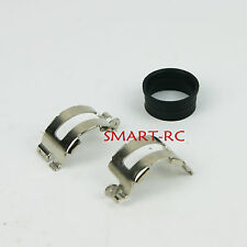 Exhaust pipe hoop and rubber seal for King Motor HPI Rovan Baja 5B SS 5T Smart