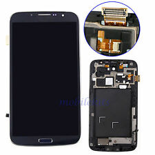 Replace For Samsung Galaxy Mega 6.3 i9200 i9205 Black LCD Touch Digitizer +Frame