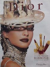 publicité MAQUILLAGE DIORIFIC    de CHRISTIAN DIOR - 1999 -   ref. 4021