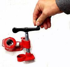 """3/4"""" Gluing Clamp Spring Lever Control Heavy Duty Wood Gluing Pipe Clamp"""