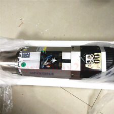 New 9KW CNC ATC Spindle Motor 220V Long head 12000~24000rpm replace Italy HSD