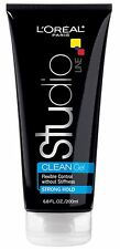 LOreal Studio Line Clear Minded Clean Gel, Strong Hold 6.80 oz (Pack of 9)