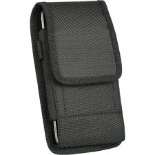 VERTICAL HEAVY DUTY NYLON ARMOR HOLSTER BELT CLIP POUCH FOR IPHONE 6 4.7""