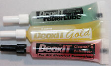 3 pk combo - DeoxIT® D-Series D100L, GOLD G100L, Fader 100% solution, 2 ml tube