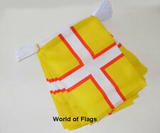 DORSET CROSS FLAG BUNTING 9m 30 Polyester Fabric Party Flags English County