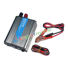 500W Watt Car USB Mobile Power Inverter Converter DC 12V to AC 220V Adapter