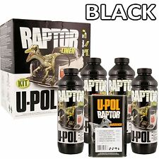 UPOL Raptor Tough Urethene Coating Truck Bed Liner in Black, Boats, Trailers etc