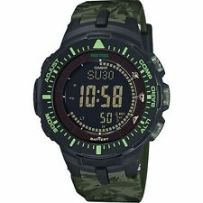 Casio PRG300CM-3, Pro Trek Watch, Triple Sensor, Solar, Compass, Thermometer