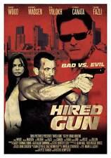 HIRED GUN Movie POSTER 27x40 Joan Altamira Xavier Bagu  Bonfill Jordi Bertr n