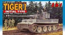 1/35 DRAGON Sd.Kfz.181 Tiger I Initial Prod s.Pz.Abt.502 Leningrad 1943 #6252