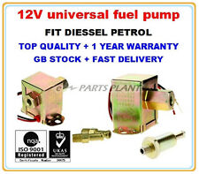 CUFP12VU 12V UNIVERSAL ELECTRIC FUEL PUMP  DIESEL OR PETROL HIGH QUALITY PARTS