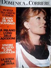 Domenica del Corriere 37 1971 Vanessa Redgrave: film scandalo. L'ONU.  C49