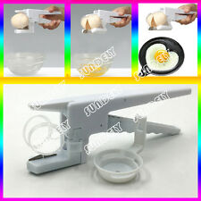 England Easy Egg Yolk Separator Cracker Slicer Tool 2in1 EZ Kitchen Gadget Aid