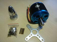 Silver Blue C6364 270kv Brushless Outrunner Motor mit Zubehör 3D