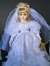 "Porcelain Bride Doll. Prestige Collection ""Kathy"" by KINGSTATE 1618/5000 MINT"