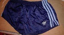 Retro VTG 80s/90s Adidas  Nylon Shorts Blue Navy Size D6/UK-M
