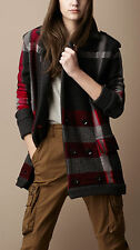 Auth BURBERRY BRIT $1095 NWT Knit Jacket/Coat Size M  NO LONGER IN STORES!