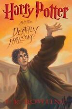 Harry Potter and the Deathly Hallows (Book 7) by J. K. Rowling (hardcover)