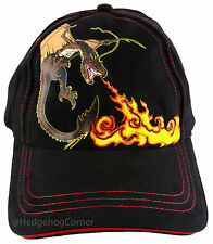 Wizarding World of Harry Potter FLAMES Chinese Fireball Dragon Baseball Cap Hat