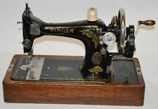 1910s Singer 28K Hand Crank Sewing Machine Rococo Decal - FREE Delivery [PL2043]