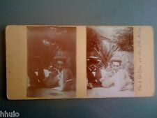 STC277 Paul et André Gilson stereoview photo STEREO Vintage ancien