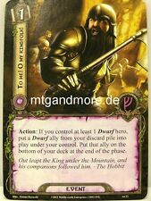 Lord of the Rings LCG - 2x to me! o My kingsfolk! #012 - on the doorstep