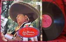 Mexican Folk JUAN MENDOZA 'El Tariacuri' **Aqui Llego** c/MARIACHI RARE Spain LP