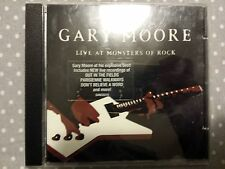 MOORE GARY - LIVE AT MONSTERS OF ROCK. CD