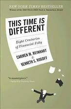 This Time is Different: Eight Centuries of Financial Folly-ExLibrary